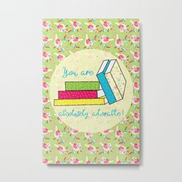 Jahmi & Whimsy: Absolutely Adorable! Metal Print