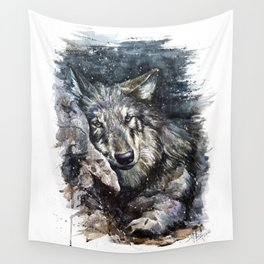 Wolf life Wall Tapestry