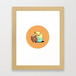 Mr. Drippy | Ni No Kuni: Wrath of the White Witch Framed Art Print
