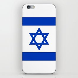 National flag of Israel iPhone Skin
