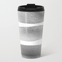 Minimalist Gray Travel Mug
