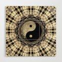 Yin Yang Geometry Mandala V1 by webgrrl