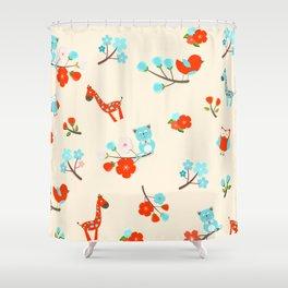 Children Decor Shower Curtain