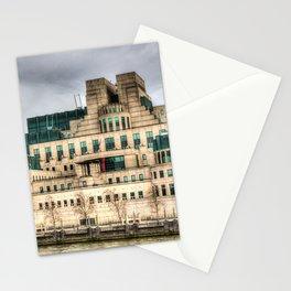 MI6 Building London Stationery Cards