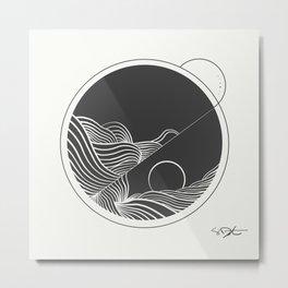 Night Tides Metal Print