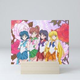 Sailor Moon Inner Senshi Soldier Crystal IV Mini Art Print