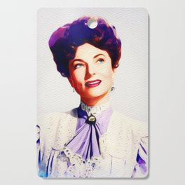 Agnes Moorehead, Vintage Actress Cutting Board