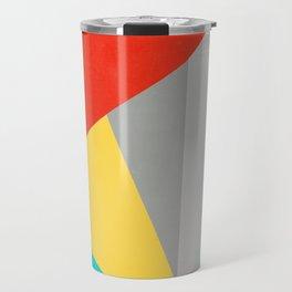 Aggressive Color Block Travel Mug