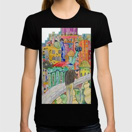 Looking at the town where I would like to live T-shirt
