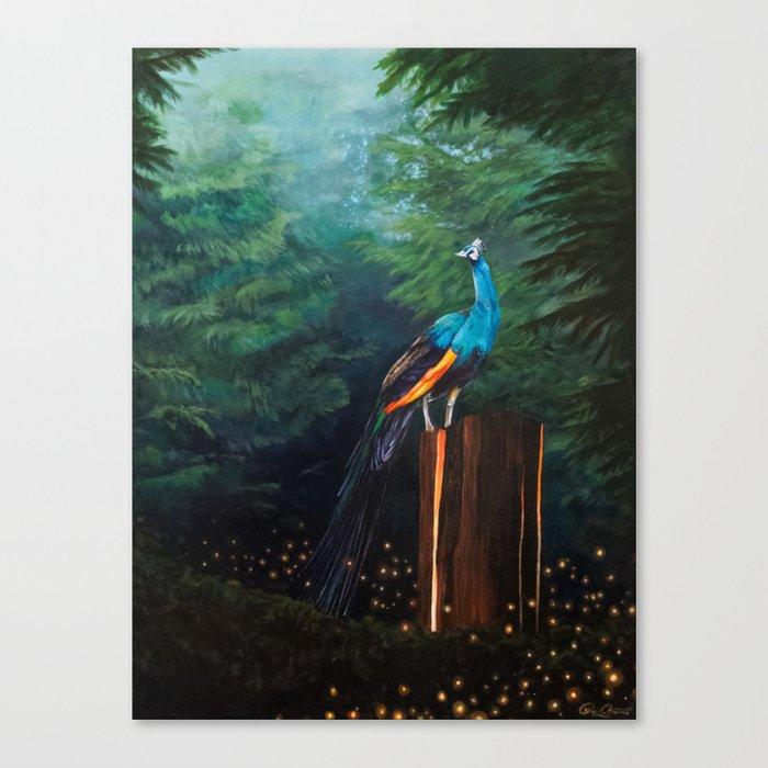 Light Catcher Canvas Print