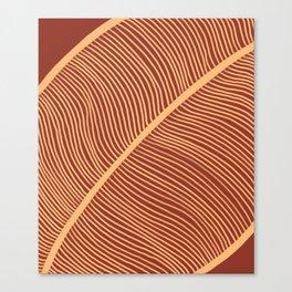 Autumn leave Canvas Print