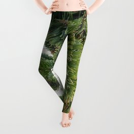 Bristlecone pine needles Leggings