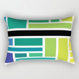 City Tiles Rectangular Pillow