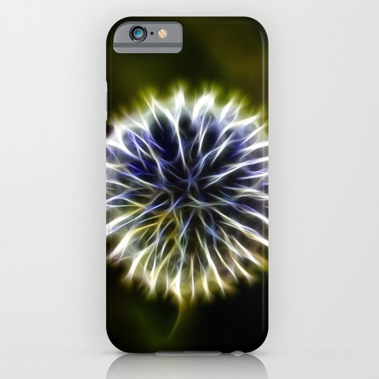 Fractal thistle iPhone & iPod Case