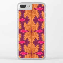 Psychedelic Crush Clear iPhone Case