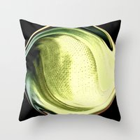 the shining Throw Pillows featuring Shining by Rose Etiennette
