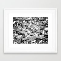 florence Framed Art Prints featuring Florence by frankWAYNE