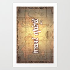 Travel Spirit #3 Art Print