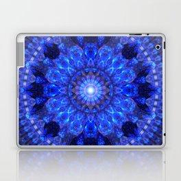 Azure Shield Mandala Laptop & iPad Skin