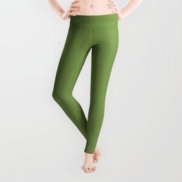 Floss Your Teeth ~ Grass Green Leggings