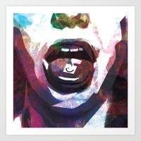 lsd Art Prints featuring LSD by miguelnarayan