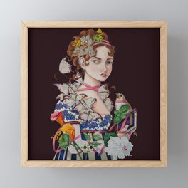The Ardent Protagonist Framed Mini Art Print