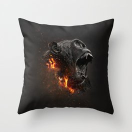 XTINCT x Monkey Throw Pillow