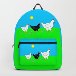 Hens and eggs Backpack