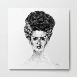 Frida Frankenstein Metal Print