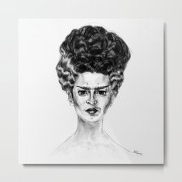 Frida Frankenstein Metal Print