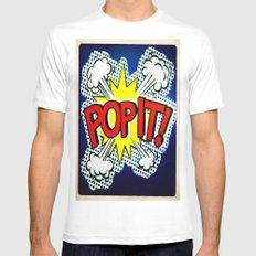 So Pop ! Mens Fitted Tee White MEDIUM