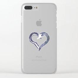 Captain Swan - Hook & Swan Clear iPhone Case
