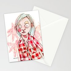 RED SHIRT Stationery Cards