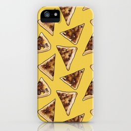 Vegemite on Toast Dreams in yellow iPhone Case