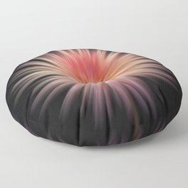 Pulsating Dahlia Floor Pillow