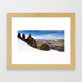 Pastoruri Framed Art Print