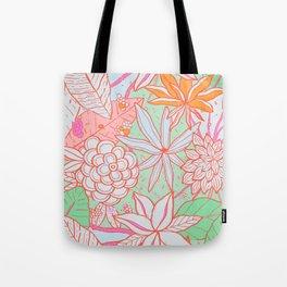 Amanda Flower Tote Bag