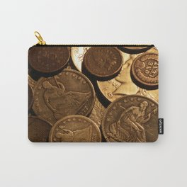 Cool Old Coins Carry-All Pouch