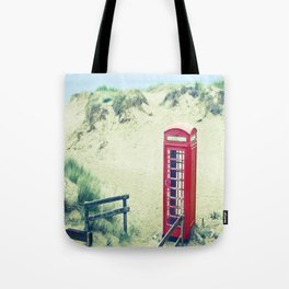 A Call From Paradise Tote Bag