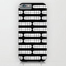 Grift Black & White Pattern iPhone 6s Slim Case