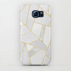 White Stone Slim Case Galaxy S8