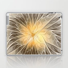 Floral Dream, Abstract Fractal Art Laptop & iPad Skin
