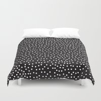 dots Duvet Covers featuring Dots by Priscila Peress