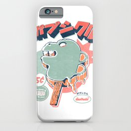Kaiju Ice pop iPhone Case