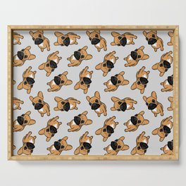Fawn Frenchie Puppy Serving Tray