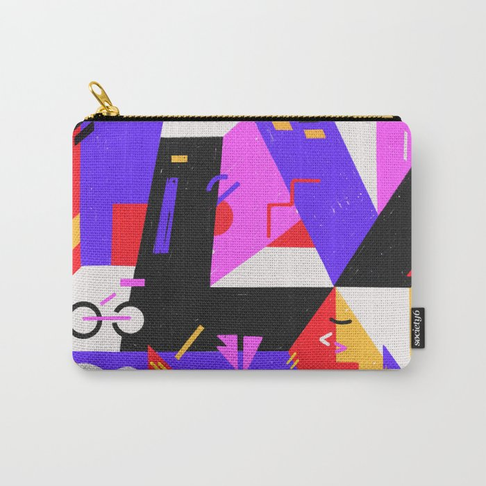 Multi-dimensional city Carry-All Pouch