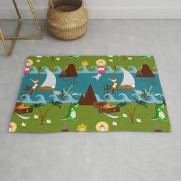 Nautical kids dream Rug