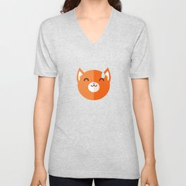 I'm Fox and I'm embarrassed Unisex V-Neck