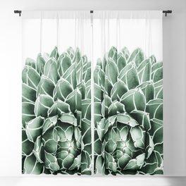 Succulent splendour Blackout Curtain