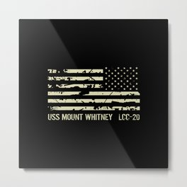 USS Mount Whitney Metal Print